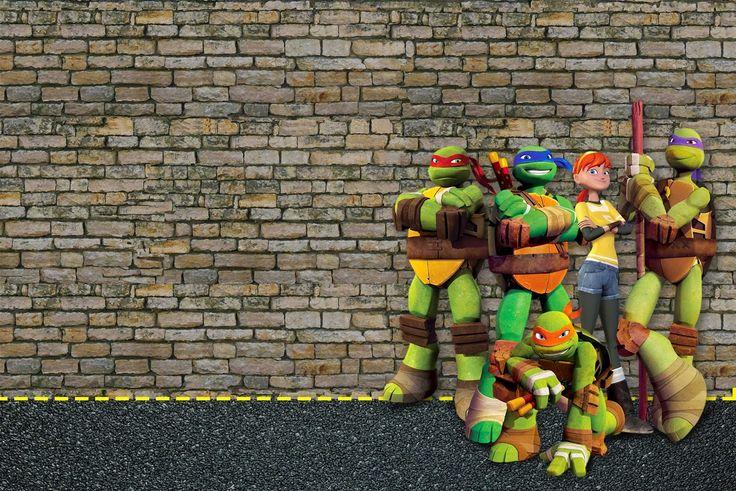 Tortugas Ninja: Invitaciones e Imprimibles Gratis para Fiestas.