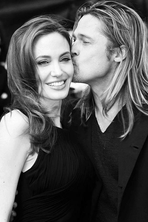 Angelina Jolie & Brad Pitt Perfect together.