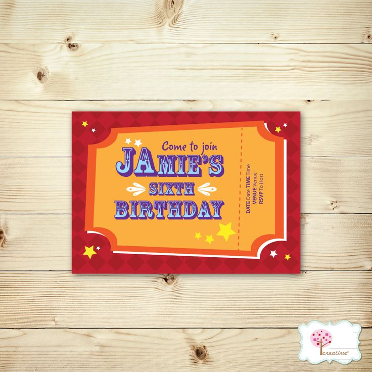 Make your Little Pince & Little Princess Circus Party even more special with these adorable Circus Birthday Party Invites!  http://creativesquare.com.au/collections/home/products/circus-party-invites