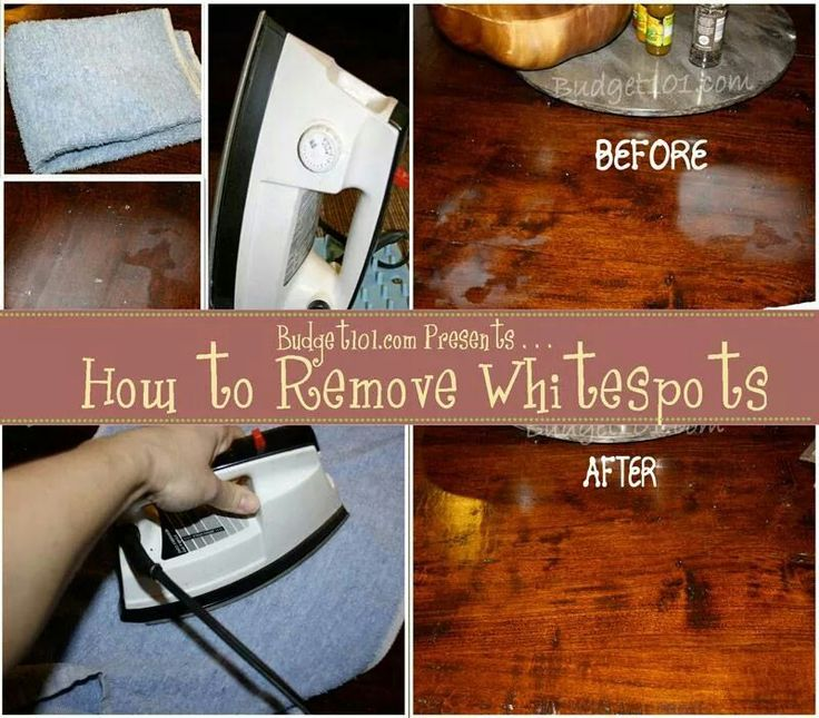 How to Remove Hot Spots White Marks from Furniture   simple trick to  restore the beauty of furniture marred with hot spots. 19 best Salvaged Stained Furniture images on Pinterest   Furniture