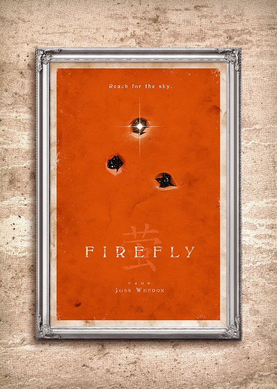 Firefly 24x36 Poster by adamrabalais on Etsy https://www.etsy.com/listing/93265827/firefly-24x36-poster