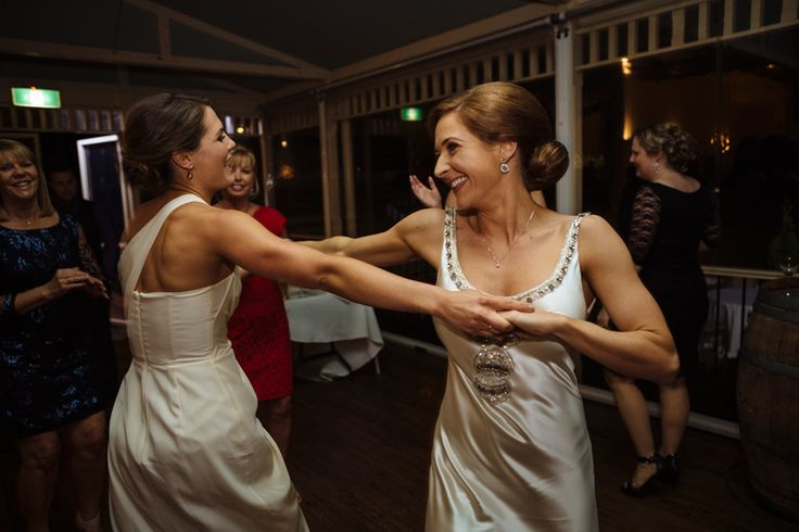 Quality dance floor action by the bride and her bridesmaid at Wandin Valley Estate | PHOTO CREDIT: Matts Photography | @mattsphotoau