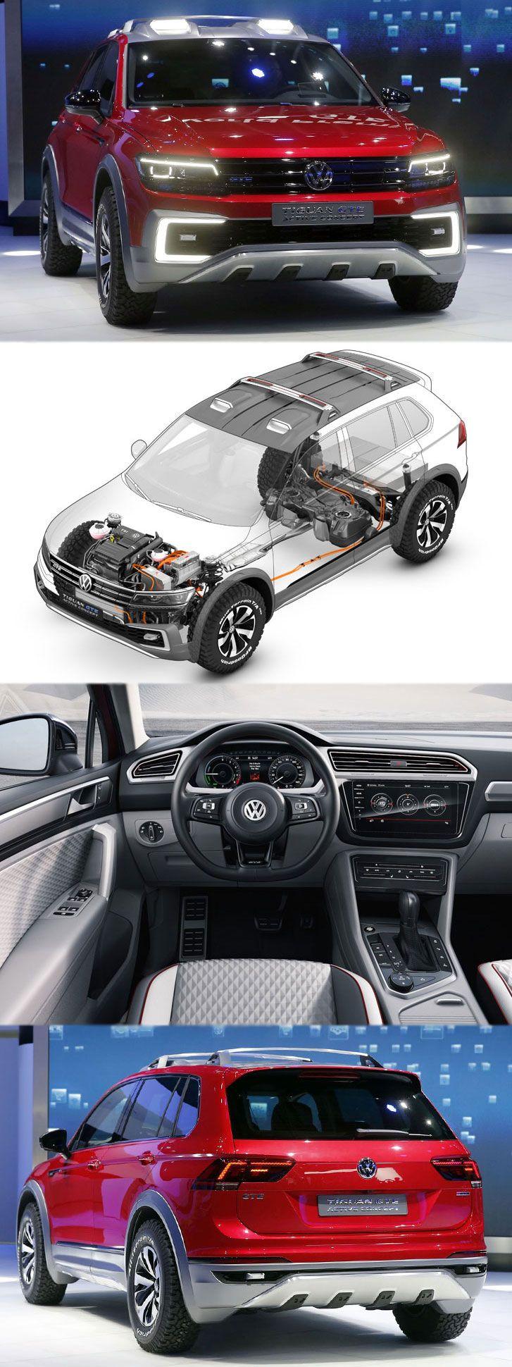 Volkswagen shown tiguan gte active concept in detroit read more details at http