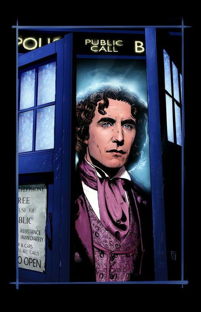 DOCTOR 8 PAUL McGANN
