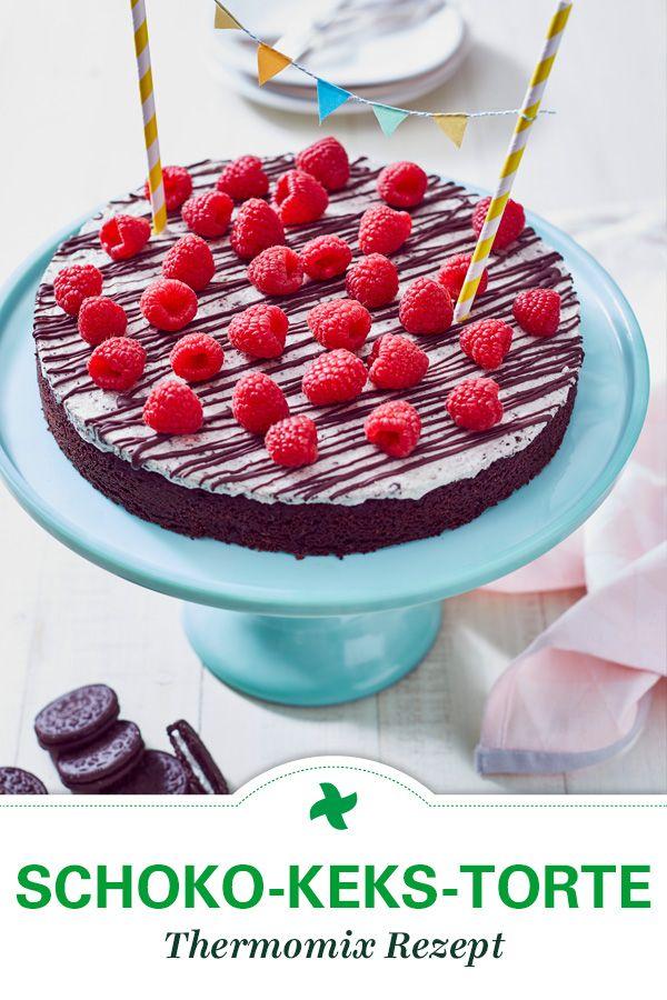 Diese Schoko Keks Torte Schmeckt Nicht Nur Den Kindern Nehmt Ihr