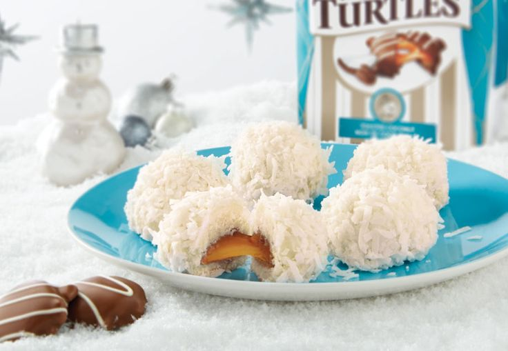 TURTLES Snowballs Dashing through the snow has never tasted so good! These frosted favourites are the perfect project for a snowy afternoon.