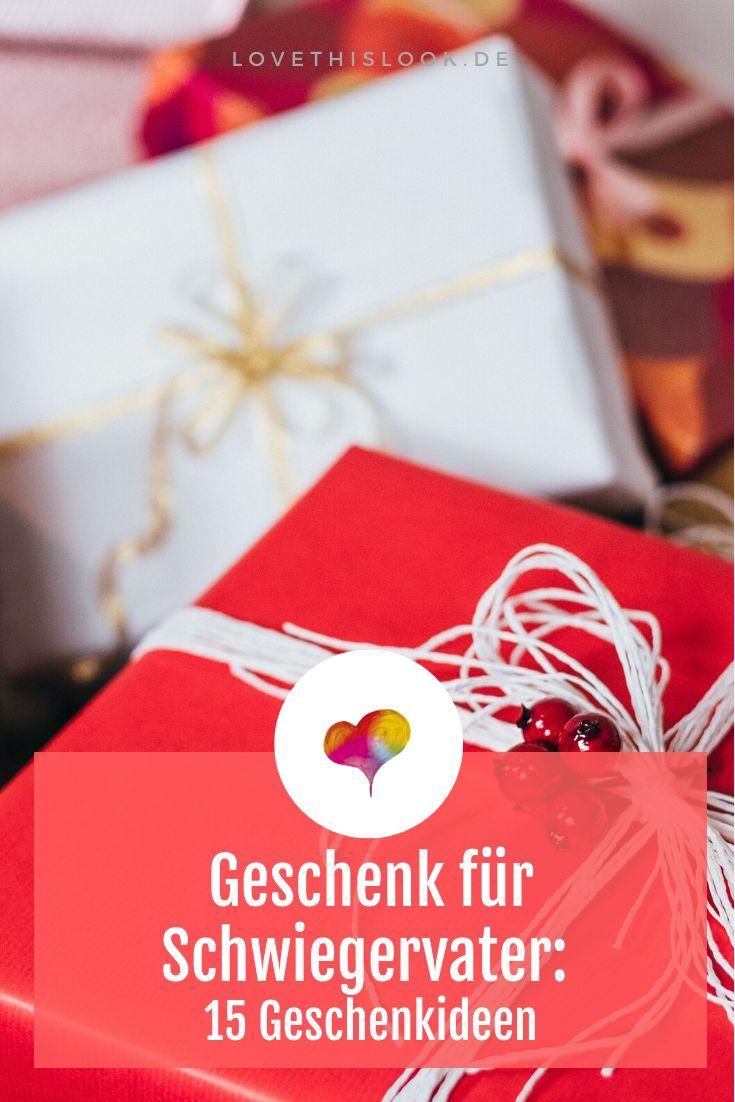 Geschenk für Schwiegervater: 15 Geschenkideen | Geschenk