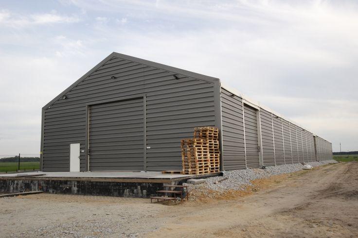 Storage structure in Galewice/ Hala magazynowa w Galewicach