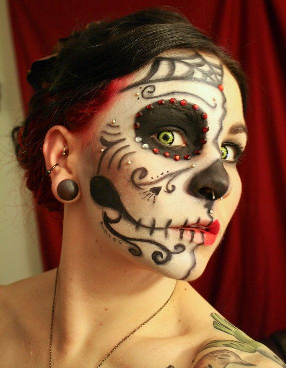 Vegan Stage and Halloween Costume Makeup by pinkquartzminerals, $19.00