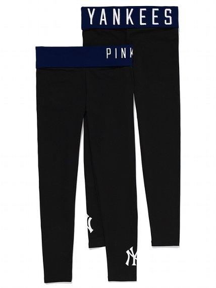 PINK New York Yankees Yoga Legging #VictoriasSecret http://www.victoriassecret.com/pink/new-york-yankees/new-york-yankees-yoga-legging-pink?ProductID=106503=OLS?cm_mmc=pinterest-_-product-_-x-_-x
