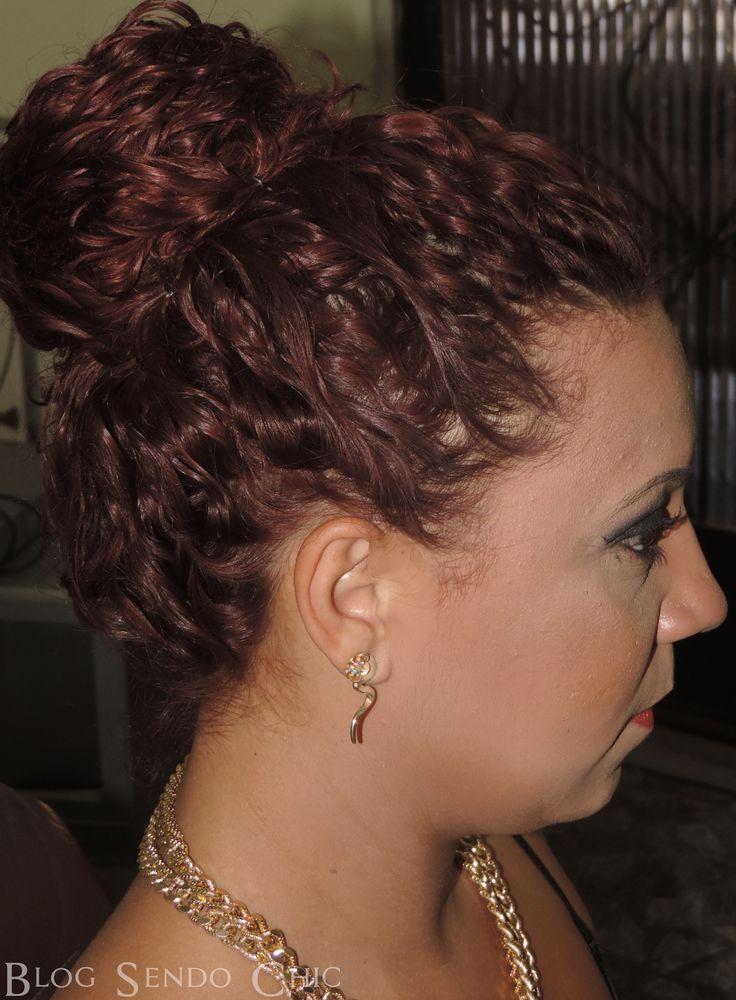 Sendo Chic: Dica : 3 Penteados simples para Cabelos Cacheados. Para dias de BAD HAIR . http://sendochic01.blogspot.com.br/2014/07/dica-3-penteados-simples-para-cabelos.html