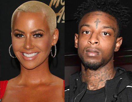 Amber Rose and Rapper 21 Savage Make Their Relationship Instagram Official #Paparazzi #instagram #nowAmber #official #Rose