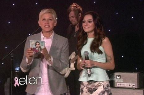 Cher Lloyd The Ellen Show