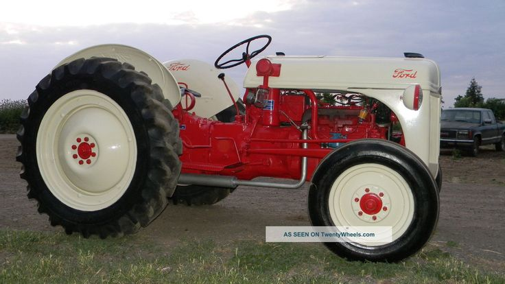 1950 Ford Tractor Tractor Vermilion : Ideas about ford tractors on pinterest