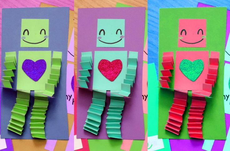 Robot Valentines! Too Cute