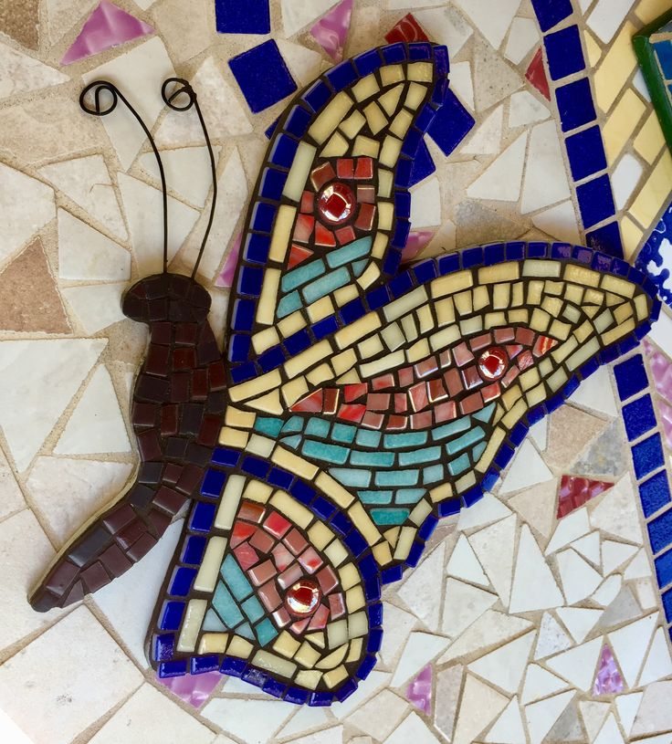 #mosaic #butterfly