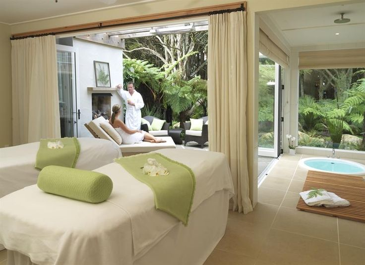 Kauri Cliffs Spa - The Lodge at Kauri Cliff, Bay of Islands, New Zealand