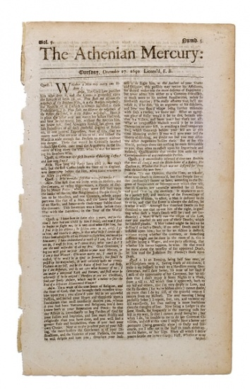newspaper guide related to salem witch trials
