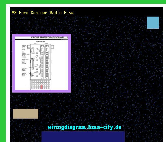 Diagram 98 Ford Contour Radio Fuse Wiring Diagram 17473