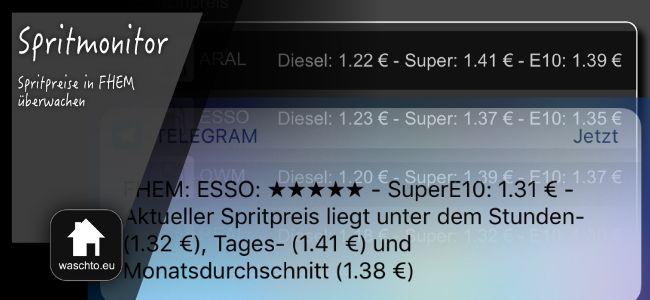 Spritmonitor und Tankalarm – Spritpreise der Umgebung per FHEM überwachen › waschto.eu