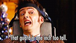 10th doctor funny gifs | doctor who David Tennant Tenth Doctor john simm the master doctor who*