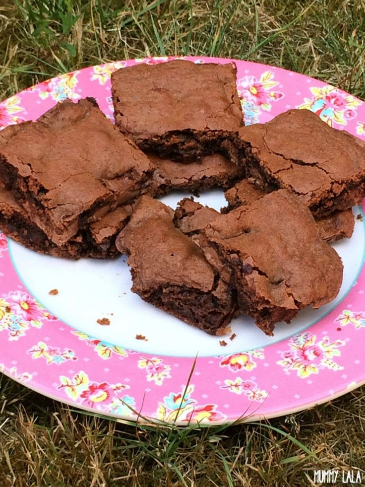 Deliciously gorgeous Nutella & Galaxy chocolate brownies