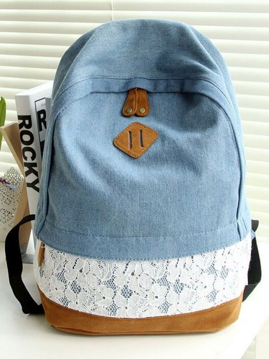 Blue Lace Backpack                                                                                                                                                      More
