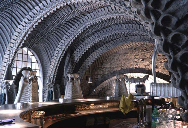 HR Giger Museum Bar
