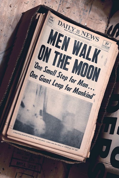"Breaking news #everytimeimportant "" one small step for me, but a giant leap for mankind."" July 20, 1969."