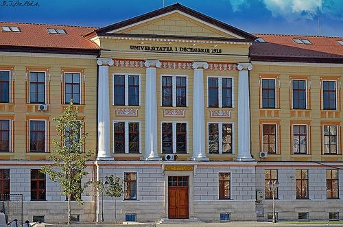 UNIVERSITATEA 1 DECEMBRIE 1918. Alba Iulia.