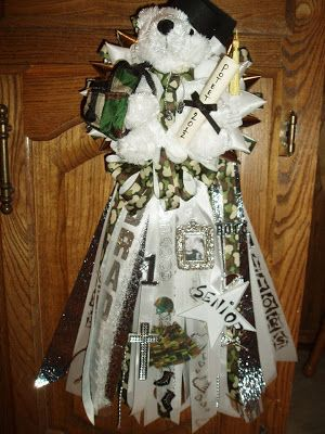 The Domestic Curator: Traditional Texas Homecoming Mums