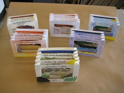 Haiku tunnel books - really like this project!