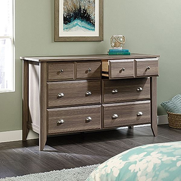 Shoal Creek Dresser Diamond Ash * D by Sauder Woodworking is now available at American Furniture Warehouse. Shop our great selection and save!