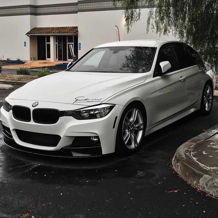 Unstoppable Bmw 328i F30 Msport On Our Lowering Springs