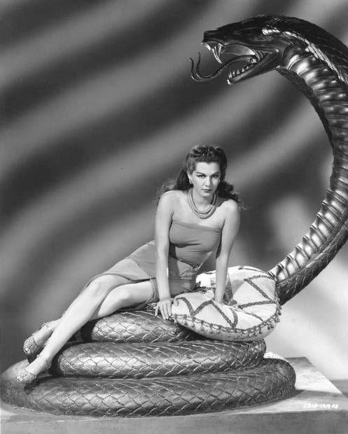 maria montez cobra woman