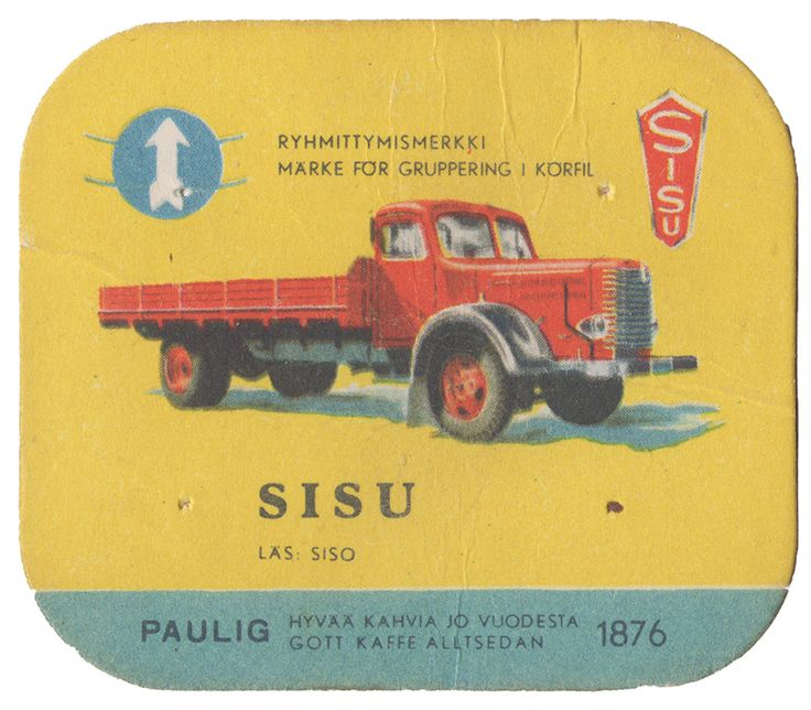 En nostalgitripp fram till jul med hjälp av Pauligs bilkort från mitten av 1900-talet.  Sisu  #cars #vintage