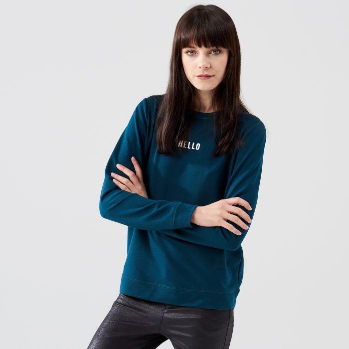 Bluza z napisem, CROPP, QM572-78X