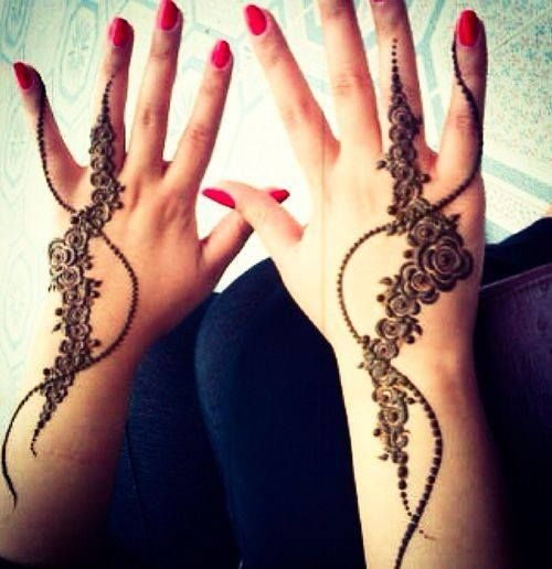 17 best do it yourself images on pinterest henna mehndi hand simple and stylish henna design for girls find this pin and more on do it yourself solutioingenieria Image collections