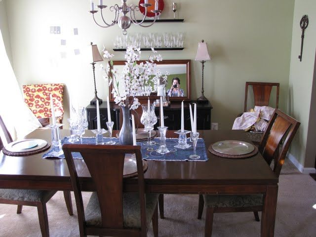 Extra Dining Room Chairs In Entryway
