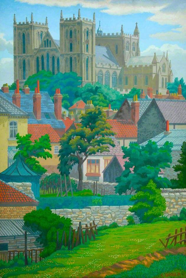 Charles Ginner Ripon Cathedral