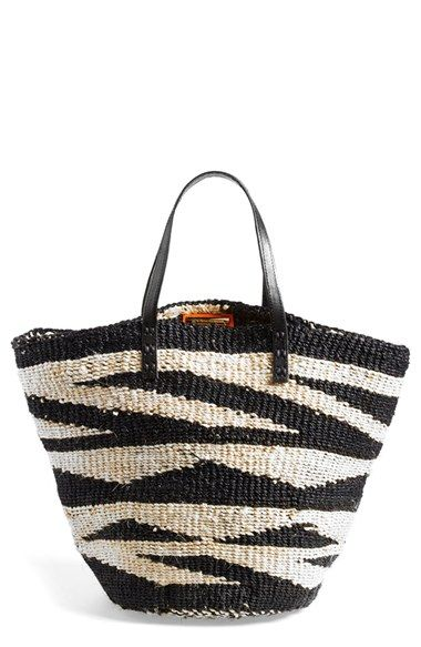ViX Swimwear 'Sisal' Woven Straw Tote available at #Nordstrom
