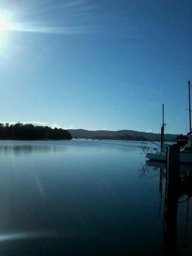 Early morning Johnstone River