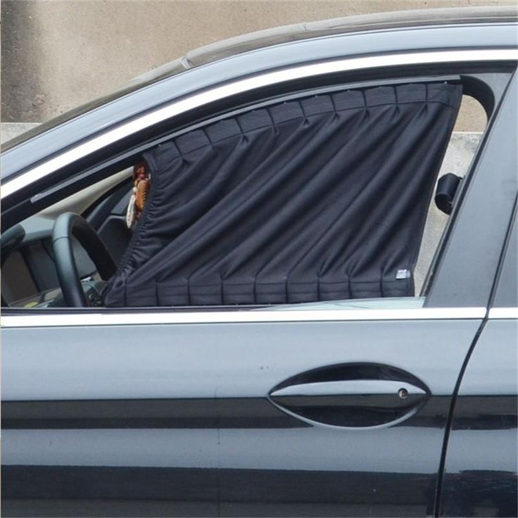 70L 70*47cm Car Sunshade Window Curtain High Quality Cloth Car Side Solar Protection Curtain