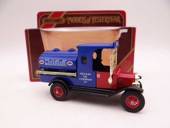 Mib Vintage Matchbox Y 3 Models Of Yesteryear Mobil 1922 Ford