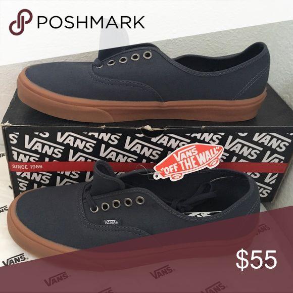 vans authentic(gumsole)india ink 5/14 Vans Shoes Sneakers
