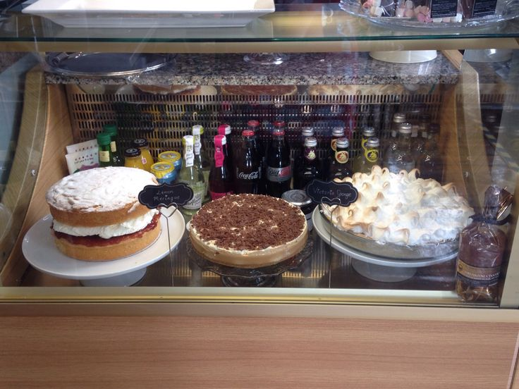 Waited a long time to see my banoffee pie on display