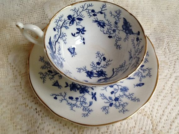 fine bone china vintage teacups and saucers - Google Search