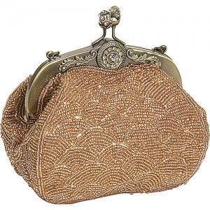 Vintage style beaded evening bag.