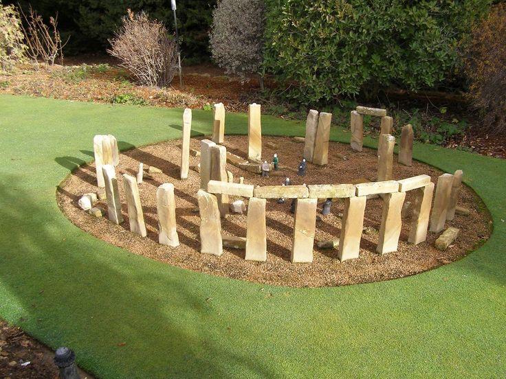 Stonehenge: Park of Miniatures   Cockington Green Gardens Canberra Australia