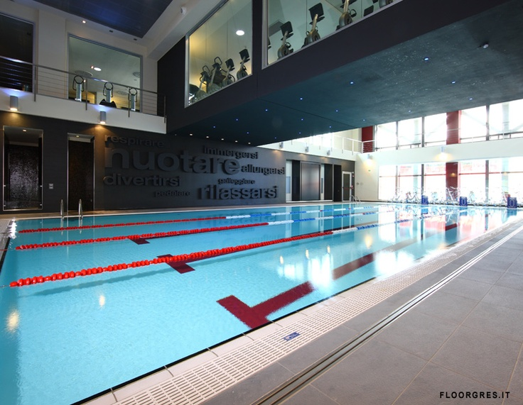 Location: Brescia, Italy    Year of manufacture: 2008    Square meters: 800    Type: Gyms - Wellbeing centres    Collections Architech Pumice, Basic Vancouver, Chromtech/1.0 Cool/5.0, Piscine\Pools: inside the pool Liscio SM Bianco, Globe/1.0 Grey: Architech Pumice, Basic Vancouver, 2008 Squares, Pools Liscio, Books Worth, Chromtech, Collection Architech, Globes 1 0 Grey, Centre Collection